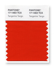 Pantone 17-1463 Tangerine Tango